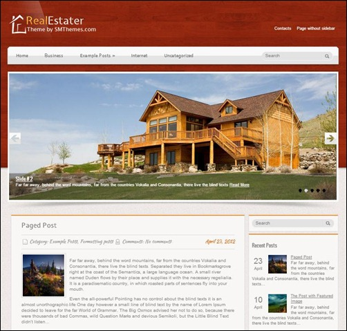 RealEstater-WordPress-Theme