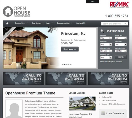 Openhouse-Real-Estate-WP-Theme