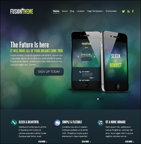 fusion Best WordPress Themes