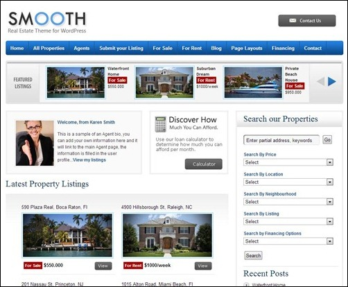 Smooth-Real-Estate-WordPress-Theme