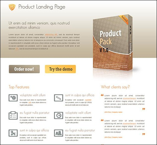 product-landing-page