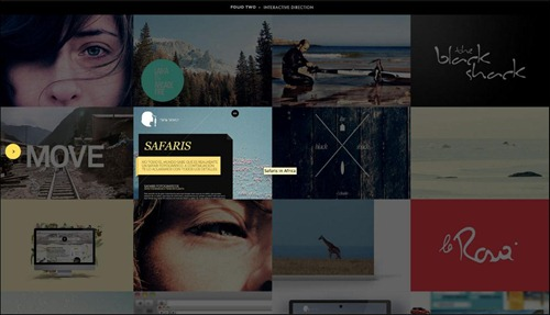 folio-two photography website template