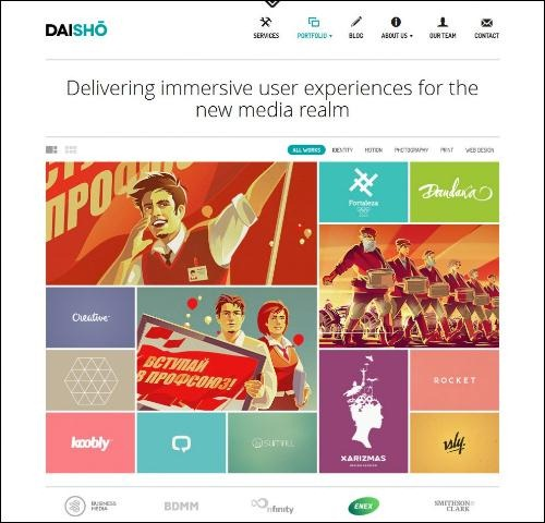 daisho photography template