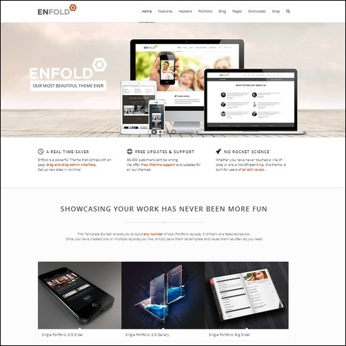 enfold wordpress business theme