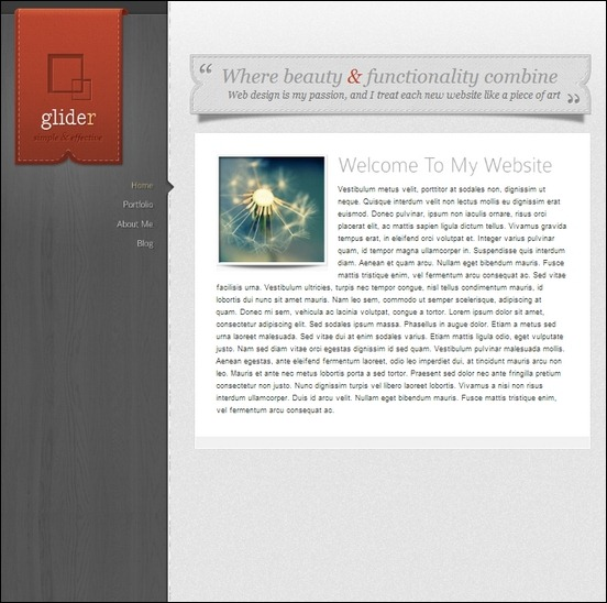 glider-wordpress-theme