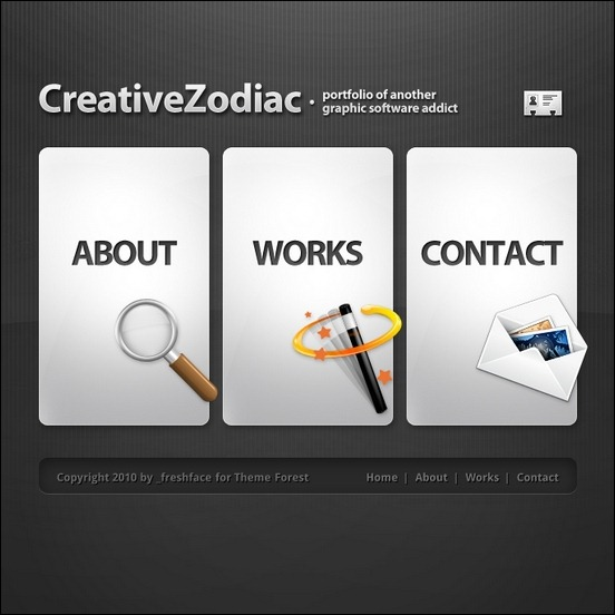 creative-zodiac-portfolio-blog-wordpress-theme