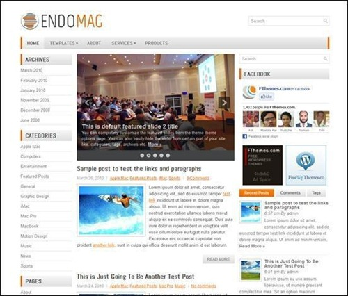 endomag-simple-wordpress-theme