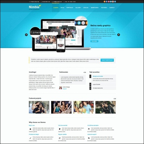 Nimble WordPress Themes