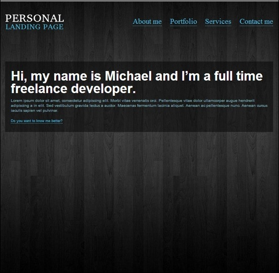 personal-landimg-page-wp-single-page-theme