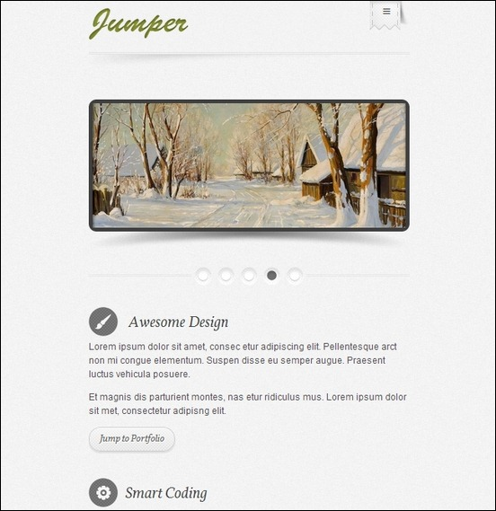 jumper-wp-one-page-theme