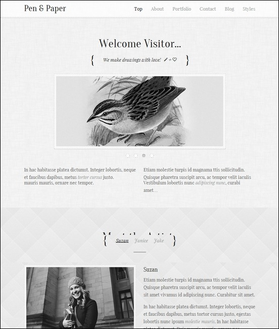 pen-and-paper-responsive-wordpress-theme