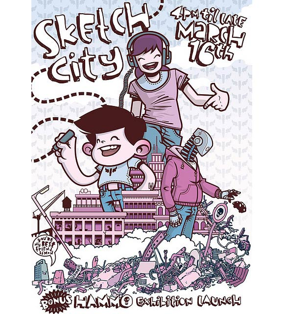 Sketch City Flyer