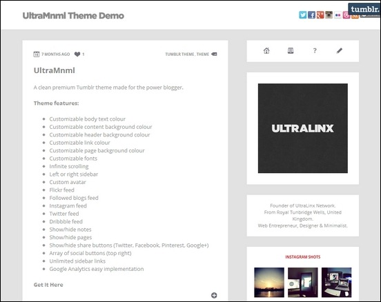 ultramnml-clean-responsive-tumblr-theme