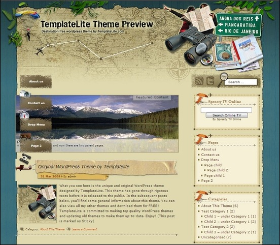 destination is a cool travel theme for wordpress