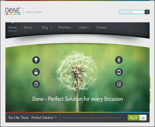 Done – Photo WordPress Theme