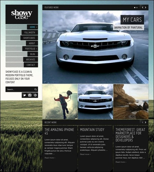 ShowyCase – Portfolio / Photography WP Theme