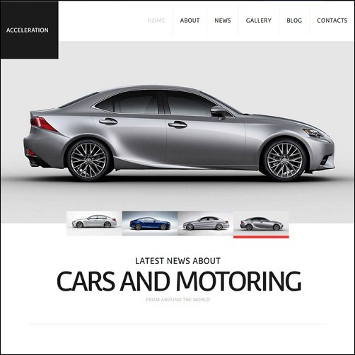 car dealer Joomla 3.0 Template