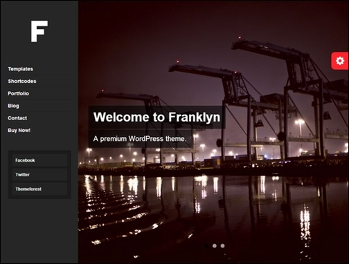 Franklyn Portfolio Blog WordPress Theme
