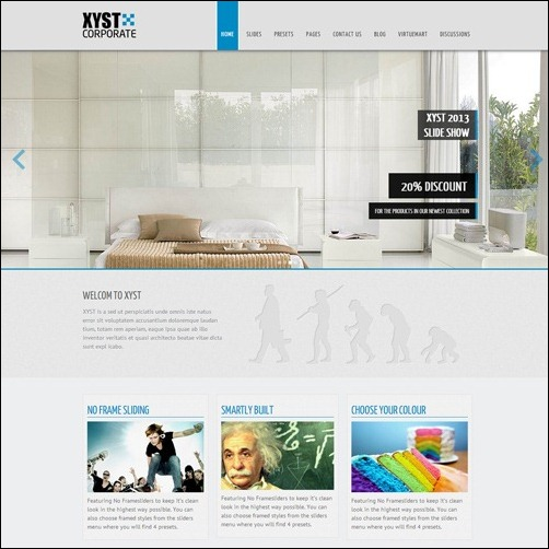 xyst Joomla 3.0 Template
