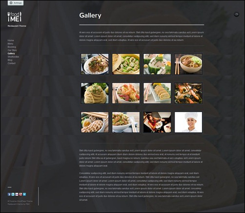 foodme restaurant menu templates