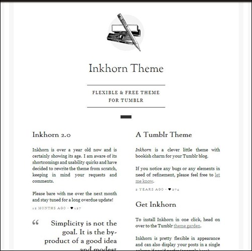 Inkhorn-Tumblr-Theme
