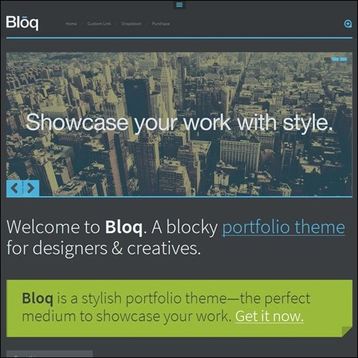 bloq-Tumblr-theme
