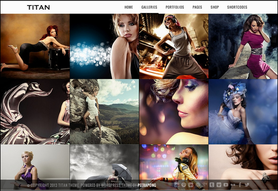 Titan Responsive Gallery and Portfolio