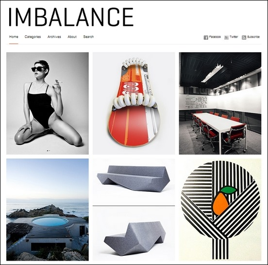 imbalance a cool unique magazine style theme for wordpress
