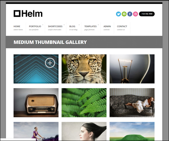 Helm Responsive Gallery and Portfolio for WordPress
