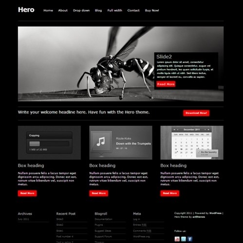 hero-wordpress-theme