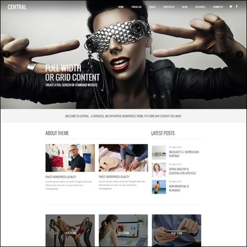 creative great wordpress theme simple business