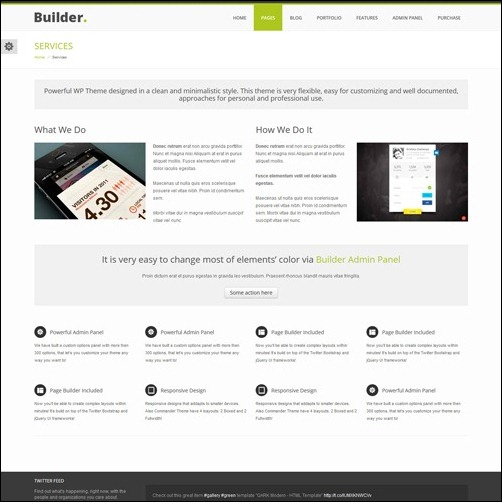 builder Business Theme