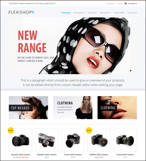 WP Flexishop 2 - A Flexible WooCommerce Theme
