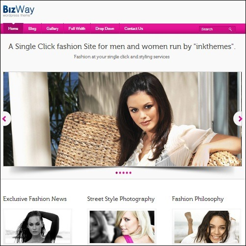 bizway WordPress Business Theme