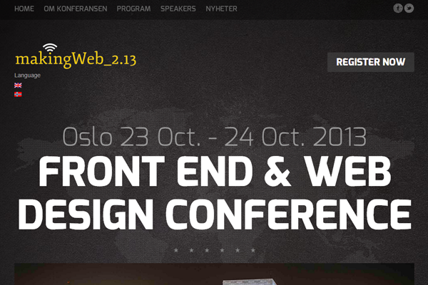making web conference website 2013