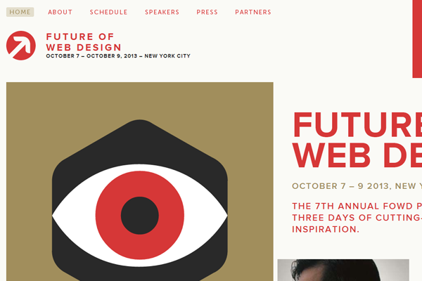 future of web design new york city 2013 website