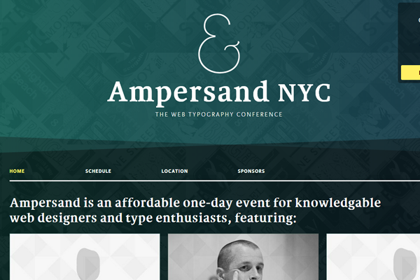 ampersand conference new york city 2013 website