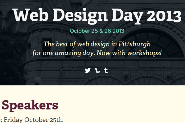 web design day 2013 pittsburgh pennsylvania