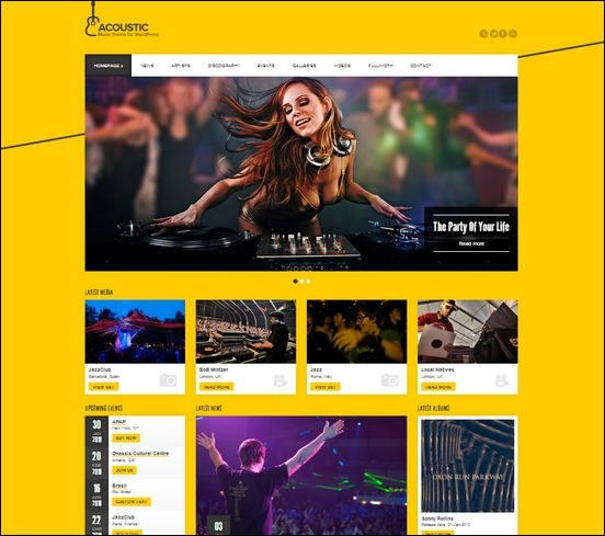 acoustic-premium-music-wp-theme