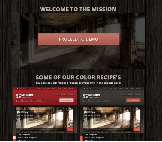 Mission is a church theme offering everything that a church would ever need, from podcasting to calendars to commerce and funding, mission aims to provide an advanced one stop solution for your church.