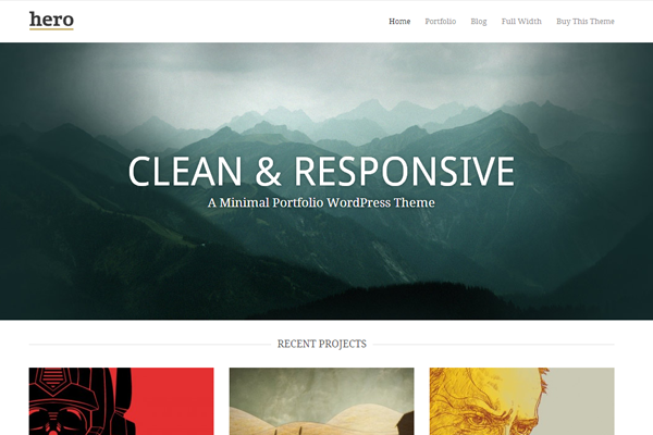 hero wordpress premium theme responsive