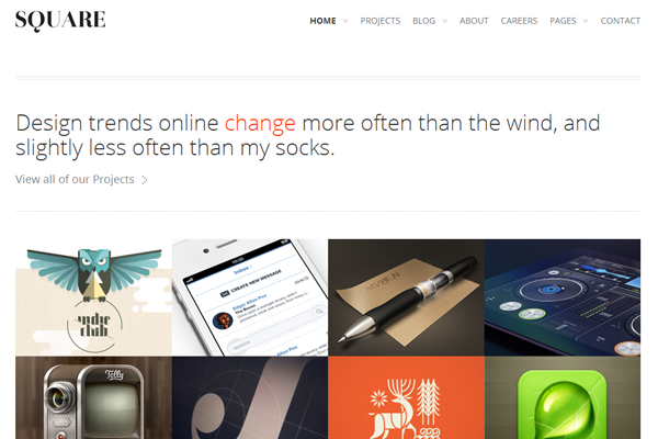 square responsive wordpress premium theme