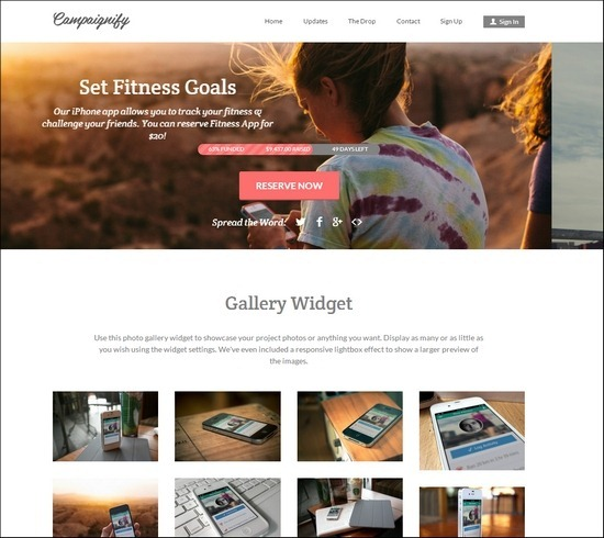 Creating a crowdfunding site has never been easier with Campaignify – the best theme for single campaign fundraising currently available.