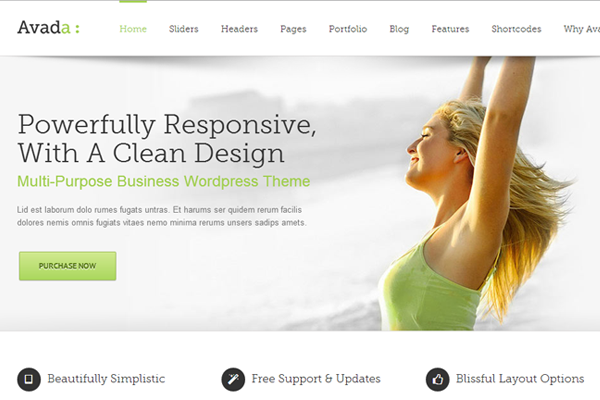 avada premium wordpress multipurpose responsive theme