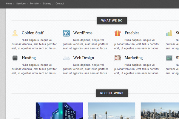 office responsive wordpress premium theme design