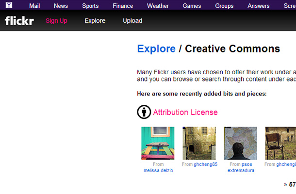 creative commons search website photography