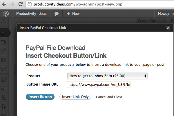 wordpress premium plugin paypal file download digital
