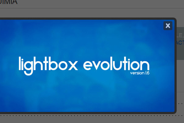 minimal wordpress plugin lightbox evolution