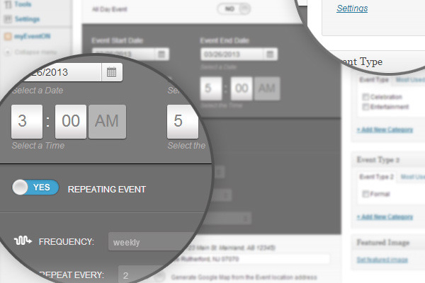 events management plugin wordpress premium codecanyon