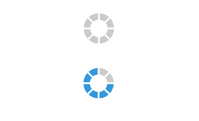css3 preloader open source icon animated